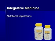 Integrative Medicine and Phytotherapy 20