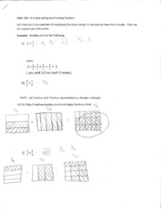 MATH 208 Section 6.3 Worksheet