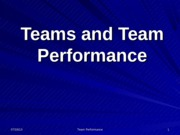 teams and team performanceS2