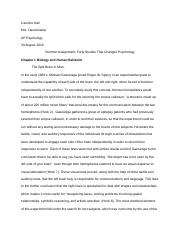 science project literature review