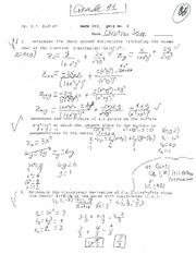 MATH 203 KUDISH QUIZ 2 SUMMER 2013