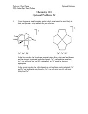 Optional Problems _2 Solutions