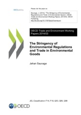 The Stringency of Environmental Regulations and Trade in Environmental Goods OECD 2014