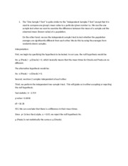 psychological statistics 315.Solutions.docx