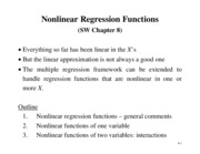 Chapter 8 - nonlinear regression