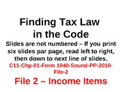 C11-Chp-01-Form-1040-Sound-PP-2010-File-2-Income-pass-no