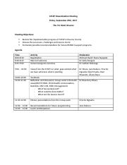 Dissemination meeting agenda 20170920.docx