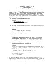 Extra Practice Problems - Chapters 9-10 - Solutions.docx