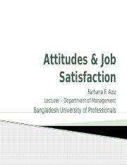Chapter 3 - Attitudes & Job Satisfaction.pptx