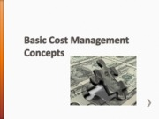 class18Basic_Cost_Management_Concepts