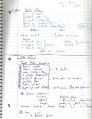 Troops level Proceedures Notes