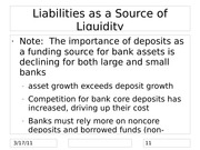 SC5-Chapters 17 & 18- Managing Liquidity Risk & Liability and Liquidity Mgt2