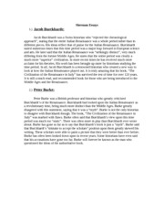 Sherman Essay 11 - being many strong influence. Martin Luther, for ...