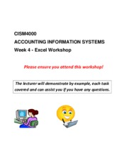 CISM4000_T3_2015_Excel_workshop_Final