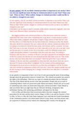 criminal procedure probable cause article summary Running head: probable cause article summary 1 probable cause  article summary cja/364  criminal procedure: from first contact to appeal.