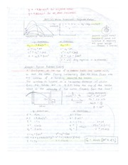 Physics 12 Projectiles