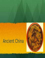World Civ 1 Unit2 PP2 Ancient China.pptx