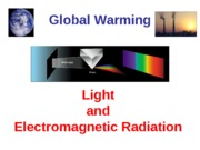 Global Warming Light and Radiation