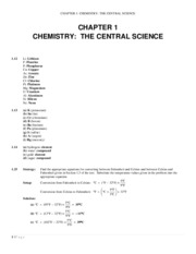 CHM 151 Chapter 1 Chemistry The Central Science Solutions to Selected Suggested Textbook Problems.pd