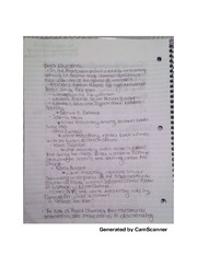 Black education notes