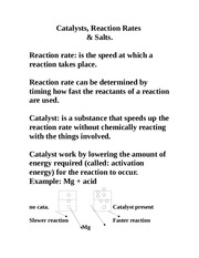 catalyst notes