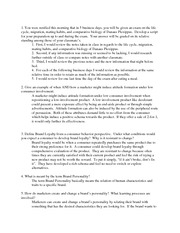 Midterm Exam Review Questions and Answers