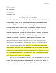 Full Essay - Synthesizing