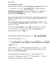 2.1 Derivative function.doc