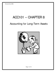 accounting 2301 Ch8 exercise