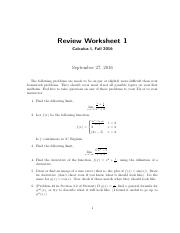 Midterm1 Review (1)