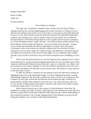 Written Analysis for THEA 161.docx