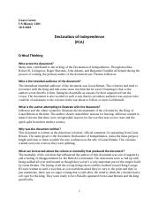 FCA Decleration of Independence.docx