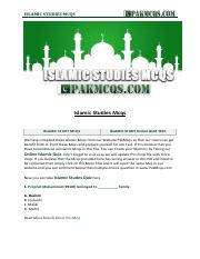 Islamiat All chapters mcqs_23_02_2019_15_02