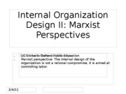 Day+18+Internal+Org+Design+-+Marxist+Approach+8+Oct+2010