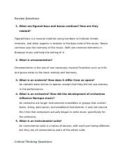 Muisc App 5 Text Questions