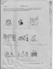 chapter 9 activities- use the pictures to write a story about a family.
