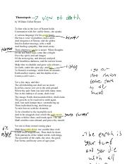 thanatopsis pdf