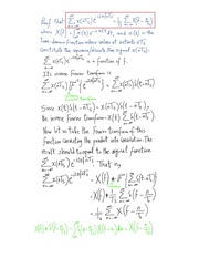 Proof of an important Fourier-Transform Based Relation