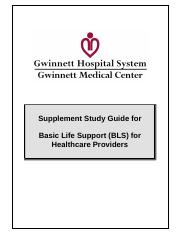 BLS Study Guide Update 2015 - ACLS | BLS | CPR | PALS