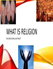 What is Religion(1) (1).pptx