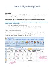 Lab 3- General lab-Data analysis with Excel in 2007 and Excel in 2013-Revised on 8-27-16.docx