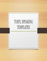Toefl speaking templates toefl speaking templates its all about toefl speaking templates toefl speaking templates its all about timing independent tasks personal preference preparation time 15 seconds response time pronofoot35fo Images