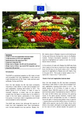 fruit&vegetable trade with EU