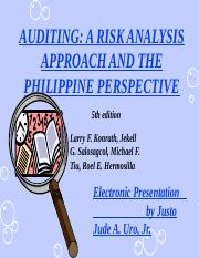 Auditing Theory 2nd Lecture 030508.ppt