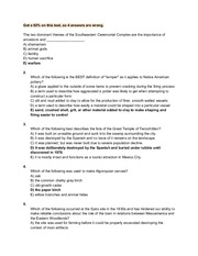 ANTH 011 Midterm 2 Questions With Answers
