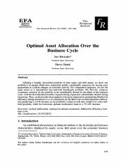 Optimal+Asset+Allocation+Over+the+Business+Cycle+-+Brocato+-+1998+-+Financial+Review+-+Wiley+Online.