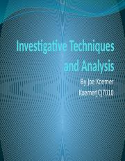 Investigative Techniques and Analysis.pptx