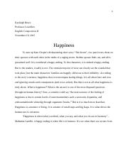What is Happiness.docx