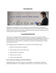 3 - Managerial Decision-Making