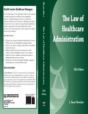 The Law of Healthcare Administration.pdf